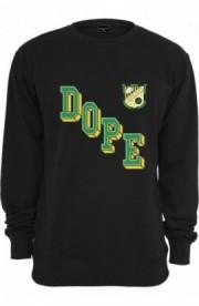 Bluze rap barbati Team Dope negru XS
