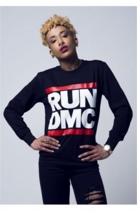 Bluze cu trupe Run DMC negru XL