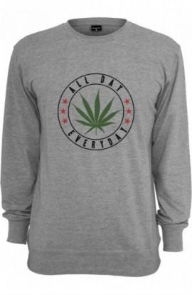 Bluze personalizate bumbac All day gri deschis L
