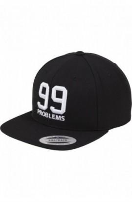 Sapca cu mesaje 99 problems negru