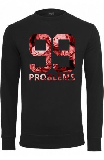 Bluze barbati fashion cu mesaje 99 Problems negru XL