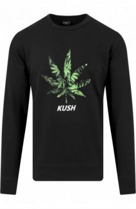 Bluze cu iarba barbati Kush negru L