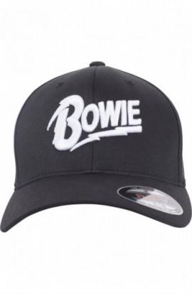 David Bowie Flexfit Cap negru L-XL