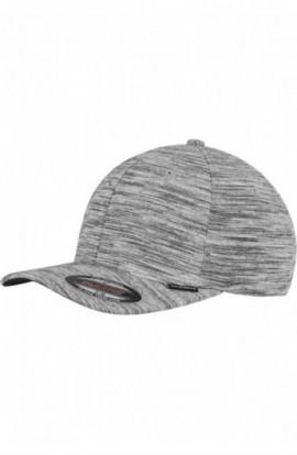 Stripes Melange Flexfit negru-gri deschis L-XL