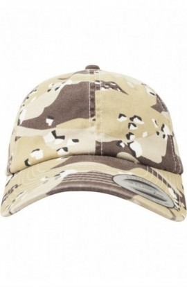 Low Profile Camo Washed Cap retro-desert-camuflaj