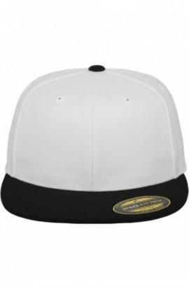 Premium 210 Fitted 2-Tone alb-negru L-XL