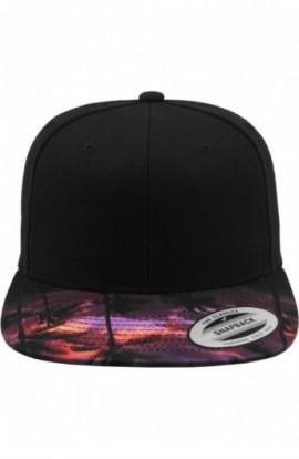 Sunset Peak Snapback negru