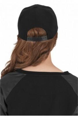 Bandana Snapback negru-fucsia