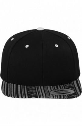 AZTEC Snapback negru-alb