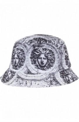Sun King Bucket Hat negru-alb
