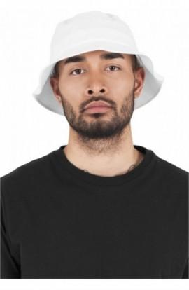 Flexfit Cotton Twill Bucket Hat alb