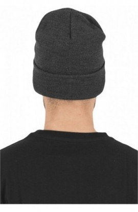 Heavyweight Long Beanie gri carbune
