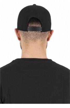 110 Fitted Snapback negru
