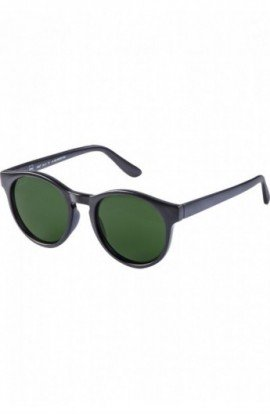 Sunglasses Sunrise negru-verde