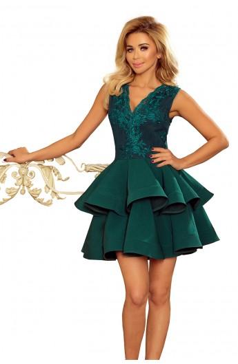 Rochie verde Charlotte