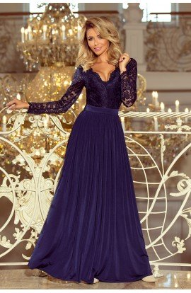 Rochie albastra Madlen