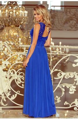 Rochie blau Lea