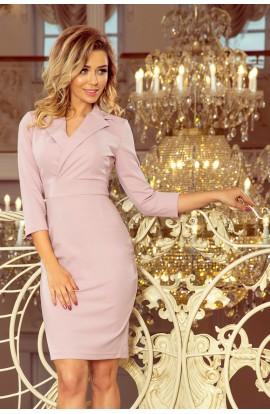 Rochie Midi Eleganta cu Decolteu Plic