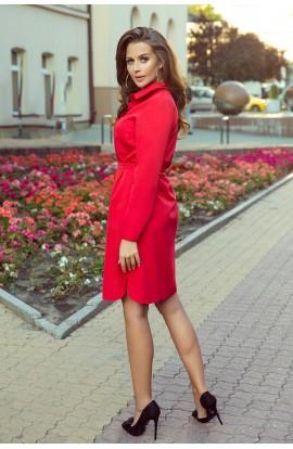 Rochie Camille , rosie , model camasa