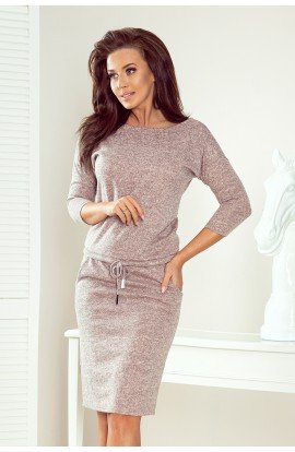 Rochie sport , model tricot