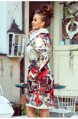 Rochie confortabilă , model colorat