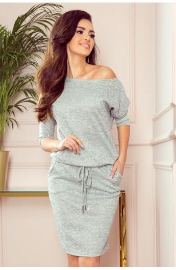 Rochie sport confecționată din material tricot