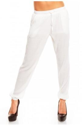 Pantaloni Lungi cu Turul Lasat pentru Femei