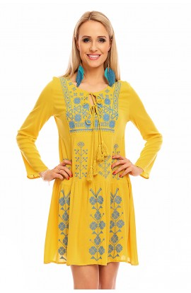 Rochie Tip Ie cu Model Traditional